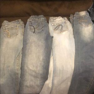 4 Pair of Hydraulic Jeans from Macy's